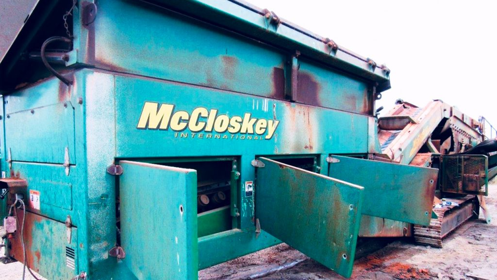 S190 Double Deck Rinser Screener