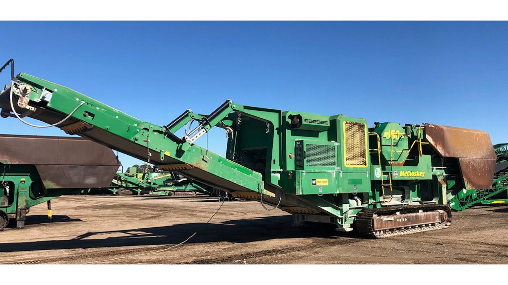 McCloskey J50 Crusher
