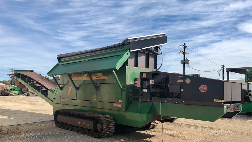 McCloskey UF1200 Feeder
