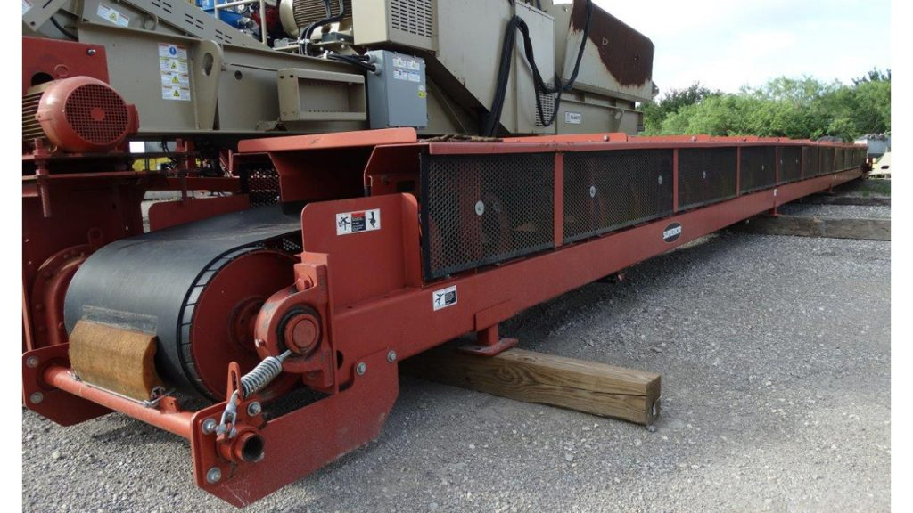 2008 Superior 24X56 Channel Frame Conveyor